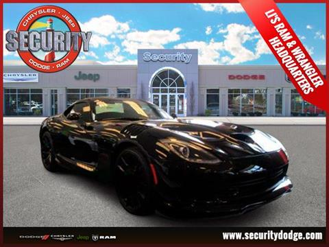 2016 Dodge Viper for sale in Amityville, NY