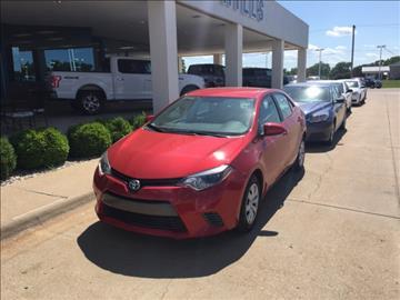 2016 Toyota Corolla for sale in Manhattan, KS
