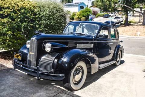 1939 LaSalle Series 50 for sale at Tri Valley Classics in Danville CA