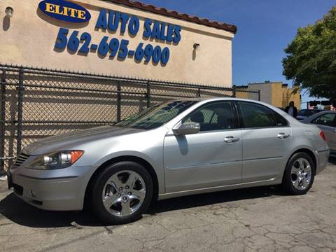 2007 Acura RL for sale in Whittier, CA
