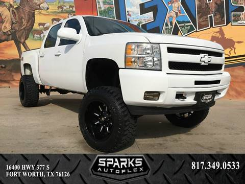 2012 Chevrolet Silverado 1500 for sale at Sparks Autoplex Inc. in Fort Worth TX