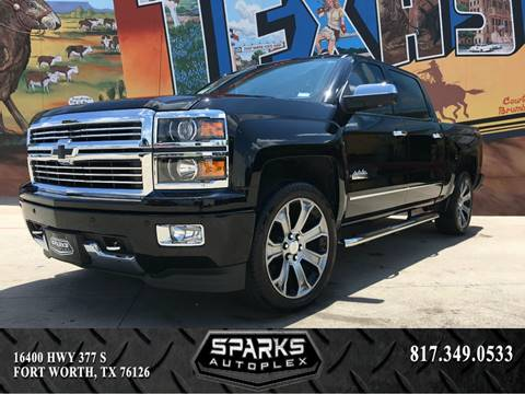 2014 Chevrolet Silverado 1500 for sale at Sparks Autoplex Inc. in Fort Worth TX