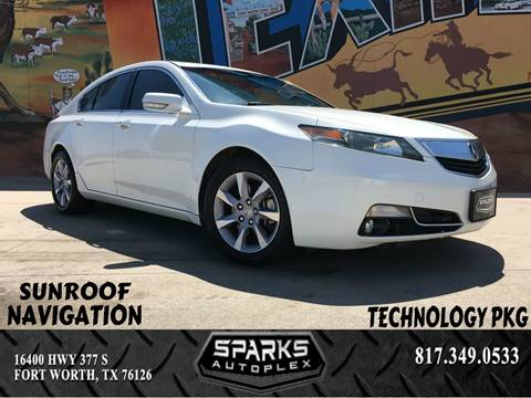 2013 Acura TL for sale at Sparks Autoplex Inc. in Fort Worth TX