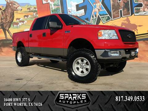 2005 Ford F-150 for sale at Sparks Autoplex Inc. in Fort Worth TX