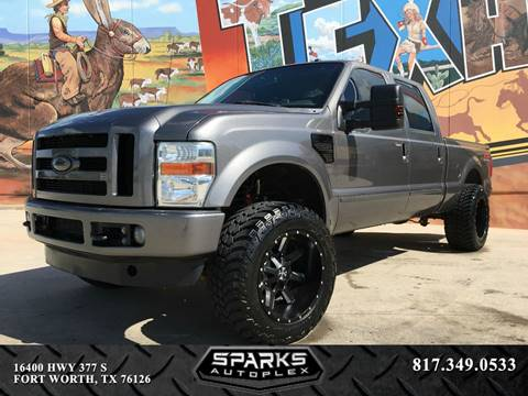 2010 Ford F-250 Super Duty for sale at Sparks Autoplex Inc. in Fort Worth TX