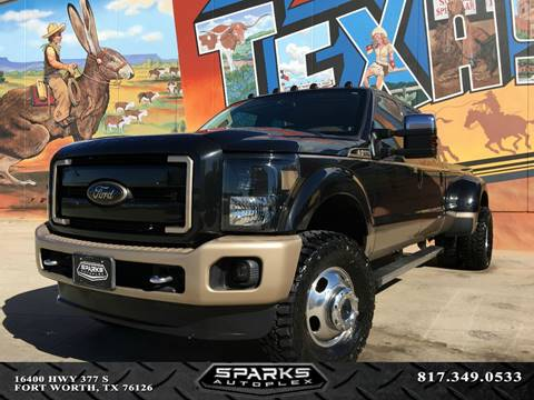 2014 Ford F-350 Super Duty for sale at Sparks Autoplex Inc. in Fort Worth TX