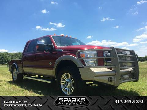 2014 Ford F-250 Super Duty for sale at Sparks Autoplex Inc. in Fort Worth TX