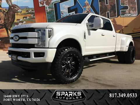 2017 Ford F-350 Super Duty for sale at Sparks Autoplex Inc. in Fort Worth TX