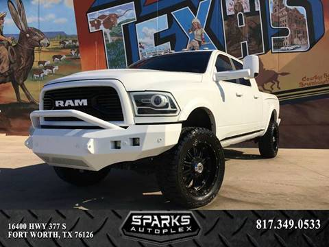 2016 RAM Ram Pickup 2500 for sale at Sparks Autoplex Inc. in Fort Worth TX