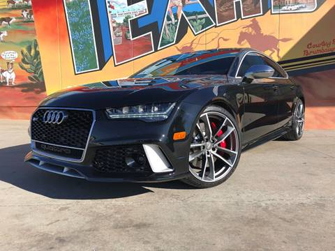 2016 Audi RS 7 for sale at Sparks Autoplex Inc. in Fort Worth TX