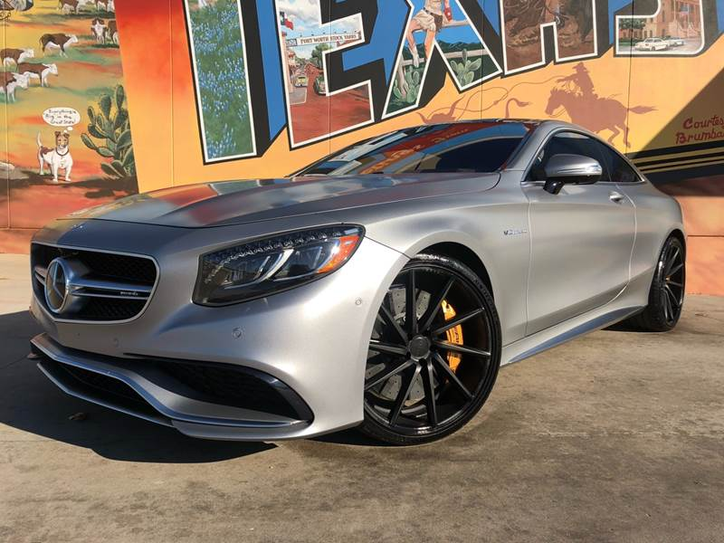 2015 Mercedes-Benz S-Class for sale at Sparks Autoplex Inc. in Fort Worth TX