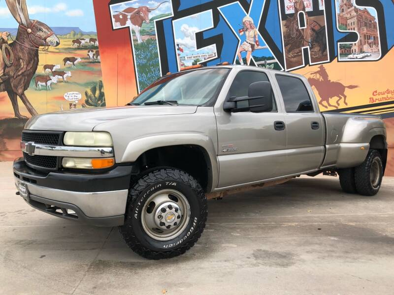 2002 Chevrolet Silverado 3500 for sale at Sparks Autoplex Inc. in Fort Worth TX