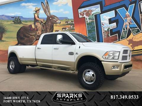 2011 RAM Ram Pickup 3500 for sale at Sparks Autoplex Inc. in Fort Worth TX