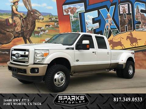 2012 Ford F-350 Super Duty for sale at Sparks Autoplex Inc. in Fort Worth TX