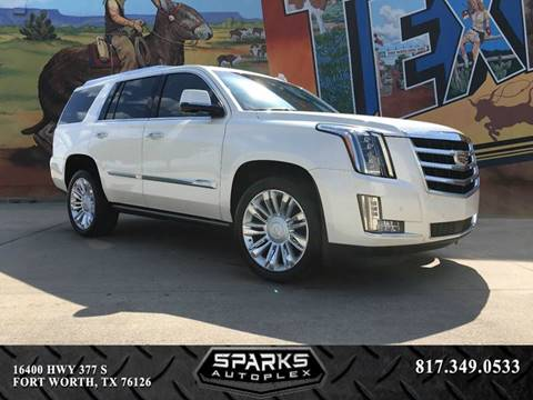 2015 Cadillac Escalade for sale at Sparks Autoplex Inc. in Fort Worth TX
