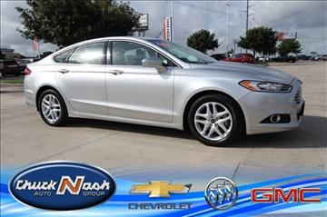 2015 Ford Fusion for sale in San Marcos, TX
