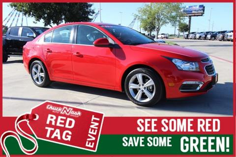 2015 Chevrolet Cruze for sale in San Marcos, TX