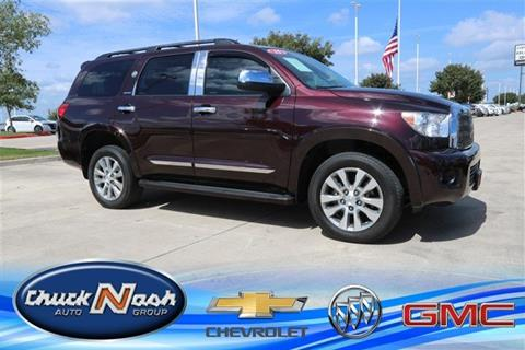 2015 Toyota Sequoia for sale in San Marcos, TX