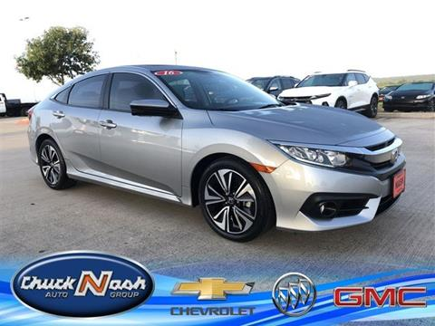 2016 Honda Civic for sale in San Marcos, TX