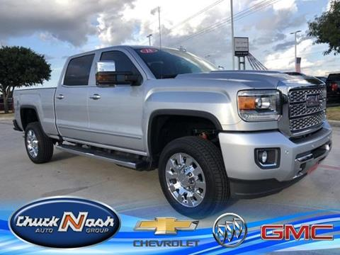 2018 GMC Sierra 2500HD for sale in San Marcos, TX