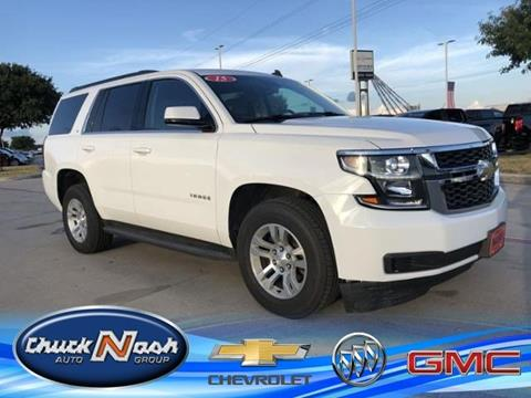 2015 Chevrolet Tahoe for sale in San Marcos, TX