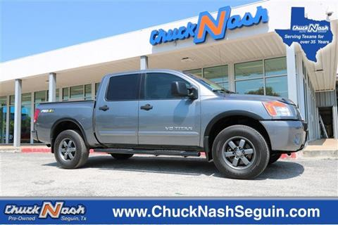 2014 Nissan Titan for sale in Seguin, TX