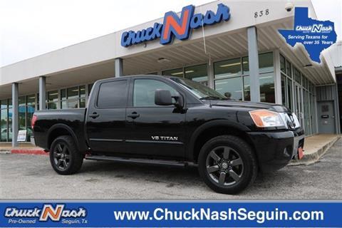 2015 Nissan Titan for sale in Seguin, TX