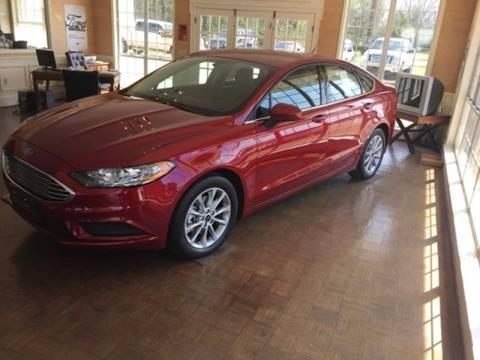 2017 Ford Fusion for sale in Sandersville, GA