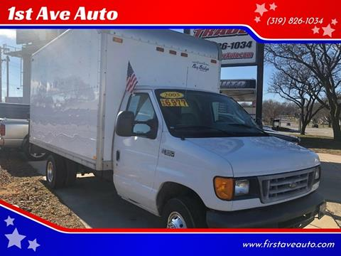 2005 Ford Box Truck for sale in Cedar Rapids, IA