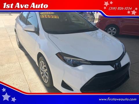 Toyota Cedar Rapids >> Toyota Corolla For Sale In Cedar Rapids Ia 1st Ave Auto