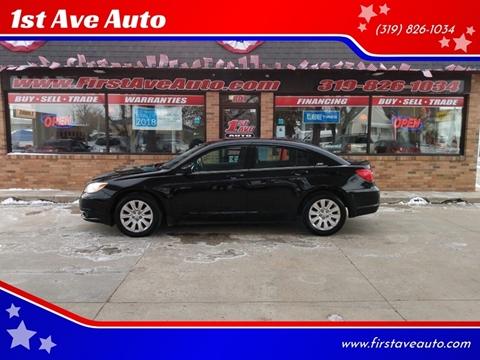 2012 Chrysler 200 for sale in Cedar Rapids, IA