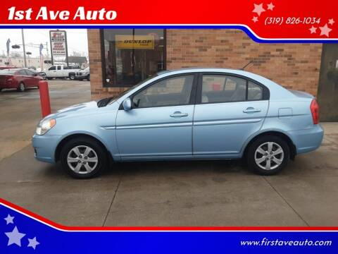 2009 Hyundai Accent for sale at 1st Ave Auto in Cedar Rapids IA