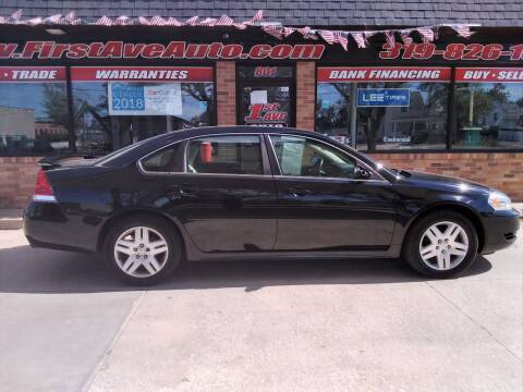 2012 Chevrolet Impala for sale at 1st Ave Auto in Cedar Rapids IA