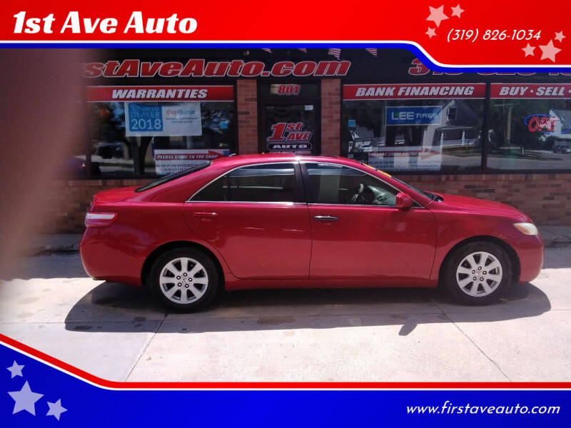 2008 Toyota Camry for sale at 1st Ave Auto in Cedar Rapids IA