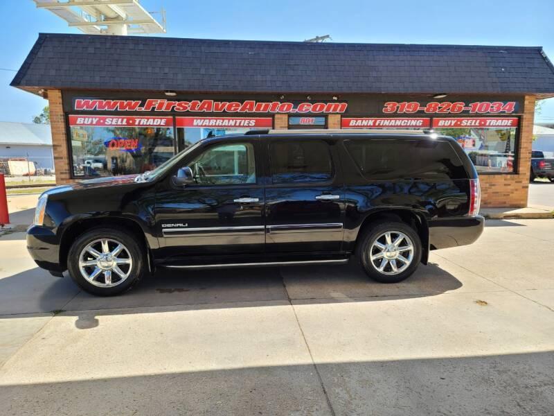 2011 GMC Yukon XL for sale at 1st Ave Auto in Cedar Rapids IA