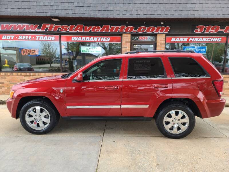 2009 Jeep Grand Cherokee for sale at 1st Ave Auto in Cedar Rapids IA