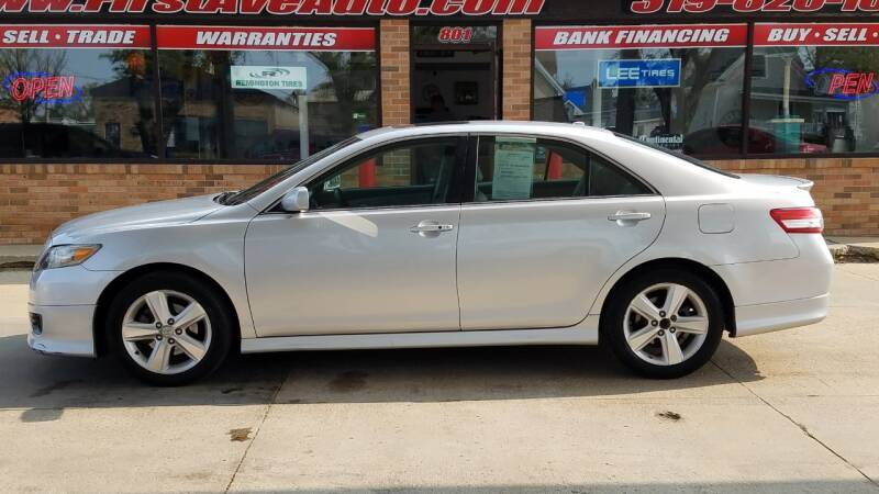 2011 Toyota Camry for sale at 1st Ave Auto in Cedar Rapids IA