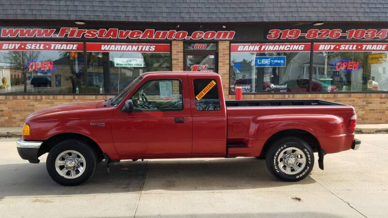 2001 Ford Ranger for sale at 1st Ave Auto in Cedar Rapids IA