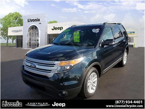 2014 Ford Explorer for sale in Livonia, MI