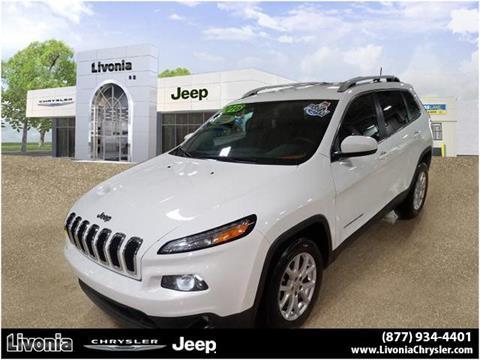 2016 Jeep Cherokee for sale in Livonia, MI