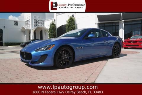 2013 Maserati GranTurismo for sale in Delray Beach, FL