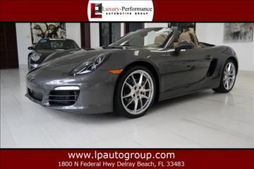 2014 Porsche Boxster for sale in Delray Beach, FL