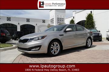 2013 Kia Optima for sale in Delray Beach, FL