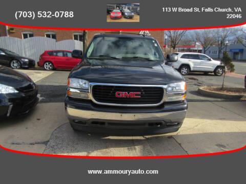 2006 GMC Yukon for sale at Ammoury Auto LLC in Falls Church VA