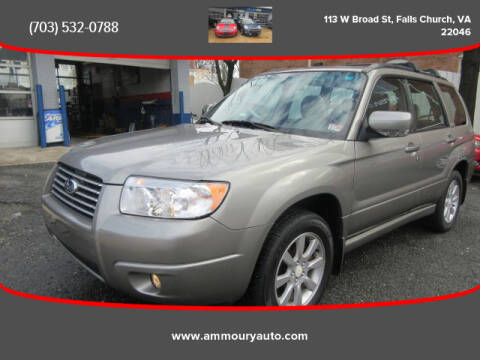 2006 Subaru Forester 2.5 X Premium Package for sale at Ammoury Auto LLC in Falls Church VA