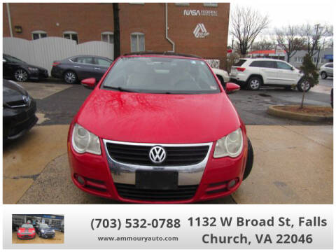 2009 Volkswagen Eos Komfort for sale at Ammoury Auto LLC in Falls Church VA
