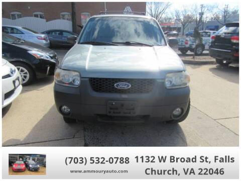 2005 Ford Escape XLT for sale at Ammoury Auto LLC in Falls Church VA