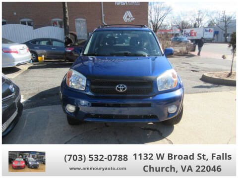 2005 Toyota RAV4 for sale at Ammoury Auto LLC in Falls Church VA