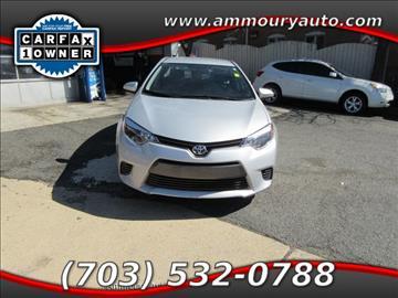 2015 Toyota Corolla for sale in Falls Church, VA