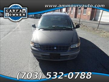 1998 Plymouth Voyager for sale in Falls Church, VA